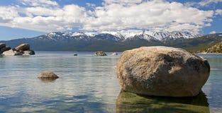 港口湖沙子tahoe 库存图片