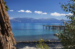 Tahoe moln arkivbild