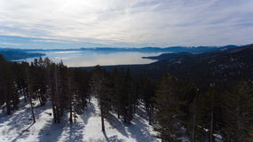 Tahoe od above Fotografia Royalty Free