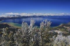 Tahoe See lizenzfreies stockbild