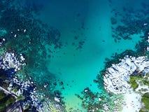 Tahoe semblant le bas droit Image stock