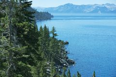 Tahoe Summer Panorama Royalty Free Stock Photography