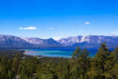 Tahoe wilderness blue Royalty Free Stock Photography