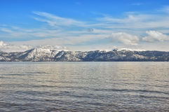 Tahoe winter Stock Photography