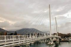Tahon Di Hulający most Obrazy Royalty Free