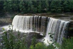 Tahquamenon понижается парк штата Стоковые Фотографии RF