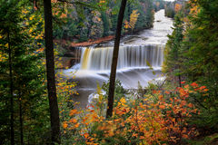 Tahquamenon Falls From Above Royalty Free Stock Photos