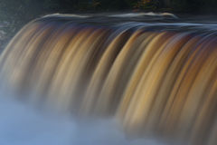 Tahquamenon falls long exposure Royalty Free Stock Photos