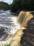 Tahquamenon Falls royalty free stock images