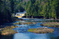 Tahquamenon Lower Falls Royalty Free Stock Photo