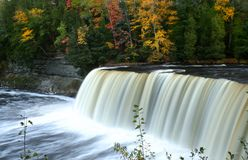Tahquamenon water falls Stock Photography