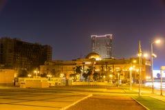 Tahrir广场的埃及博物馆在开罗 免版税库存照片