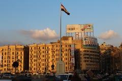 Tahrir广场,开罗 免版税库存图片