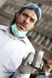 Tahrir protester Stock Photography
