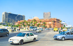 The Tahrir Square Royalty Free Stock Photos