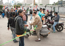 Tahrir Square During Parliamentary Elections 2011 Stock Photography