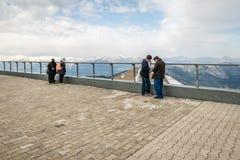 Tahtali mountain in Kemer, Turkey Royalty Free Stock Photography