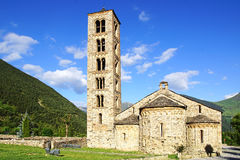 Tahull的圣Clement教会  免版税库存照片