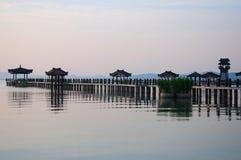 Tai λίμνη τρία βασίλεια Wuxi στοκ εικόνες