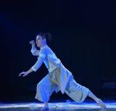 Tai ο chi-εθνικός λαϊκός χορός Στοκ Εικόνες