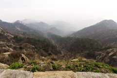 山Tai 图库摄影