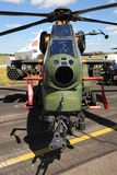 TAI/AgustaWestland T129攻击用直升机 免版税库存图片