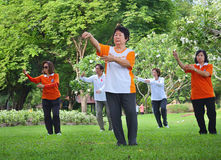 Tai Chi Royalty Free Stock Photography