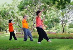 Tai Chi Stock Images