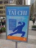 Tai Chi, Bryant Park, NYC, NY, USA royalty free stock image