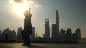 Tai Chi en la Federación, Shangai metrajes