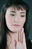 Tai-chi girl Royalty Free Stock Photos