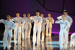 The Tai Chi Group-The dance drama The legend of the Condor Heroes Royalty Free Stock Photos