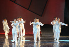 The Tai Chi Group-The dance drama The legend of the Condor Heroes Stock Image