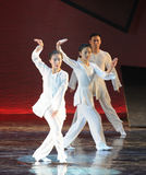 Tai Chi Martial Arts-The dance drama The legend of the Condor Heroes Royalty Free Stock Image