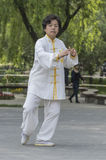 Tai Chi practitioners Stock Photos