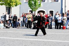 Tai Chi and Qi Gong day in Vilnius city Royalty Free Stock Images