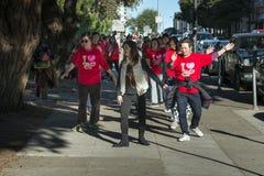 Tai Chi sur les rues de San Francisco Images libres de droits