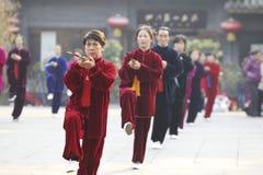 Tai Chi Sword 太�� Stock Photo