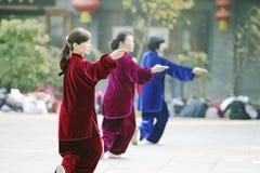 Tai Chi Sword 太极剑 Stock Images
