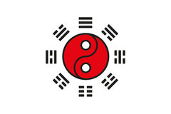 Tai Chi Symbol Lizenzfreies Stockbild