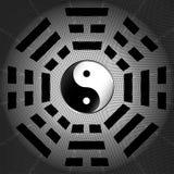 Tai-Chi und bagua Symbol Lizenzfreie Stockfotos