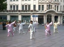 Tai-chisvärd Fotografering för Bildbyråer