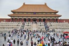 tai he dian,The Forbidden City (Gu Gong) stock photos
