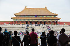 Tai he dian,The Forbidden City (Gu Gong) Stock Photos