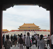 Tai he dian,The Forbidden City (Gu Gong) Royalty Free Stock Photo