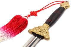 Tai het zwaard van de Chi Stock Afbeeldingen