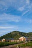 Tai Hing zwiania gromadzki miasteczko kondensata Greenfield Mangui obrazy stock