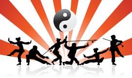 Tai-ji Imágenes de archivo libres de regalías
