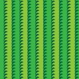Tai Ji-installatie natuurlijk verticaal naadloos patroon stock illustratie