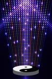 Tai Ji platform light effect Stock Image